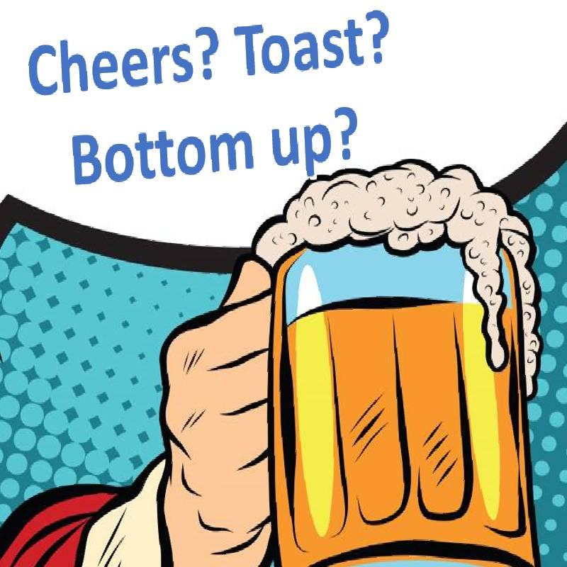 【舉杯慶祝英文點講?】