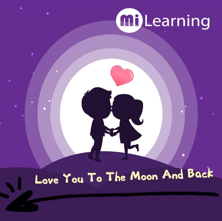 MI Learning 文化大不同  [Love You To The Moon and Back]